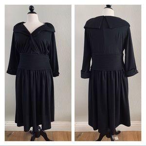 LINDY BOP 50s Ramona Royal Swing Dress Black 3XL